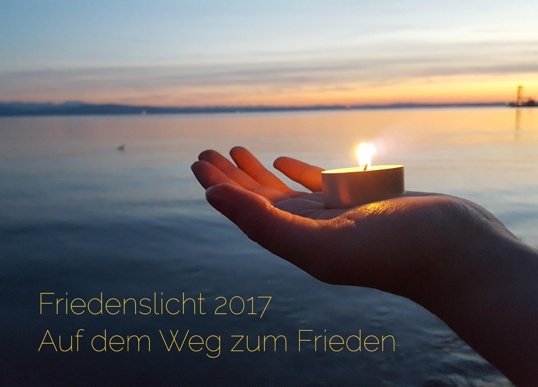 Friedenslicht 2017